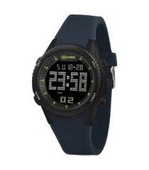 relógio digital x-games masculino - xmppd609 preto