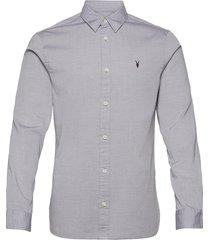 redondo ls shirt overhemd casual grijs allsaints