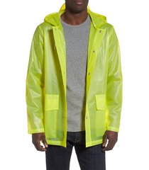 men's rains hooded rain jacket