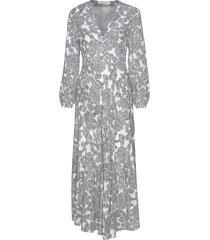 cindy l dress aop 10056 maxi dress galajurk multi/patroon samsøe samsøe