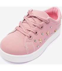 zapatilla estrella mujer pink chancleta
