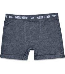 underwear new era cueca boxer new era brasil mescla cinza