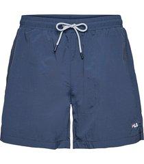 men matteo swim shorts badshorts blå fila