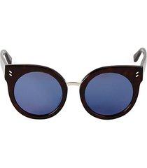 52mm cat eye round sunglasses