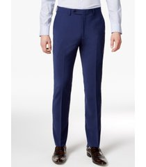 bar iii men's skinny fit stretch wrinkle-resistant wool suit pants, created for macy's