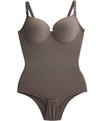 cinta body bojo modeladora redutora compressão afina cintura feminina liebe - feminino