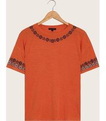 camiseta naranja naranja l