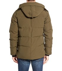 men's canada goose 'macmillan' slim fit hooded parka, size xxx-large - green