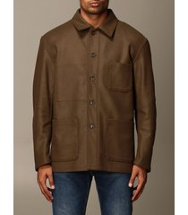 grifoni jacket grifoni shirt in wool and cashmere cloth