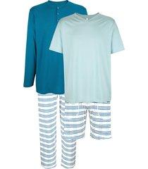 pyjamas babista ljusblå::blå