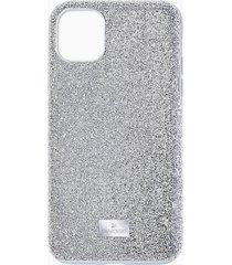 custodia per smartphone high, iphoneâ® 11 pro max, tono argentato