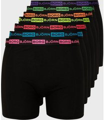 björn borg seasonal neon sammy shorts boxershorts black