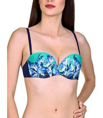 bikini lisca haut de maillot de bain bandeau balconnet préformé egina