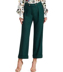 quinby stretch virgin wool trousers