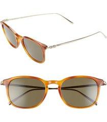 men's salvatore ferragamo classic logo 53mm gradient rectangle sunglasses -