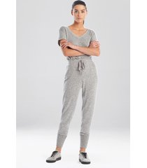 natori ulla jogger pants sleepwear pajamas & loungewear, women's, size l natori