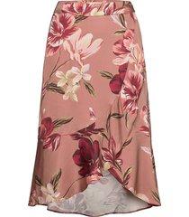 beth skirt knälång kjol rosa by malina