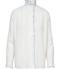 noor blouse lange mouwen wit vanessa bruno