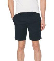 men's original penguin stretch cotton twill shorts, size 32 - blue