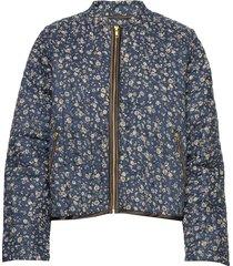 emilia jacket doorgestikte jas blauw lollys laundry