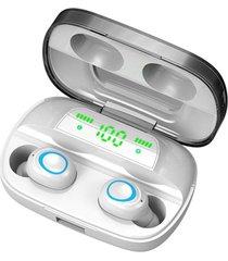 s11 auriculares inalámbricos con estuche de carga touch control tapone