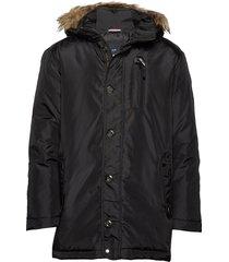parka jacket parka jas zwart lindbergh