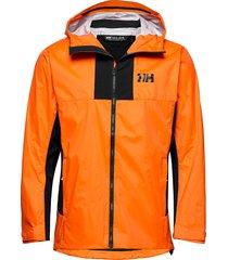 vanir logr jacket dun jack oranje helly hansen