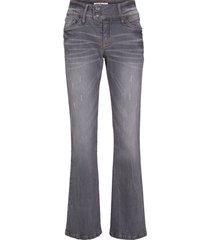 jeans elasticizzati authentic bootcut (grigio) - john baner jeanswear