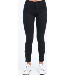pantalón negro  her jeans