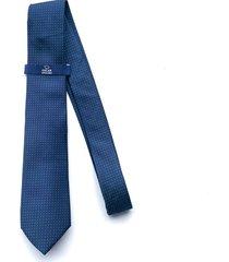 corbata azul oscura oscar de la renta 20aa2169-180