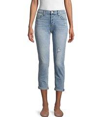 josefina roll cuff cropped jeans