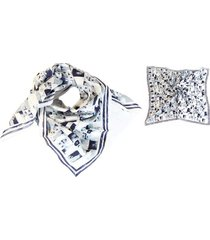 pañuelo blanco almacén de paris