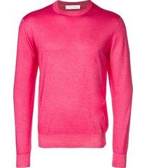 cruciani lightweight sweater - pink