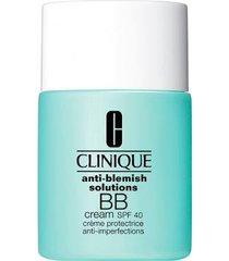 bb cream anti-blemish solutions fps 40 clinique - base para rosto light medium