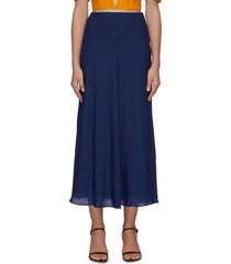 'spire' gauze maxi skirt