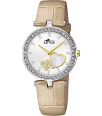 reloj bliss beige lotus
