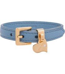 miu miu madras charm bracelet - blue