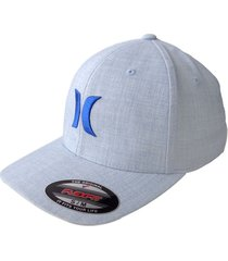 gorra hurley one & textures pure 37 s/m-gris claro