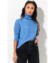 akira always this close turtleneck sweater