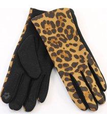guantes animal print almacén de parís