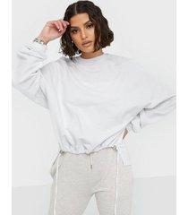 nly trend front drawstring sweat sweatshirts