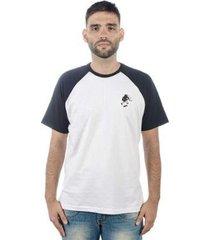 camiseta mxc brasil skate never day raglan - masculino