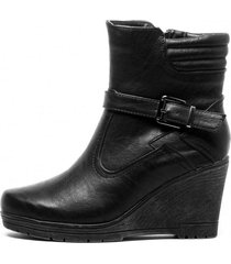 botin isabel black chancleta