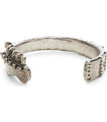 valentino garavani men's antiqued cuff bracelet