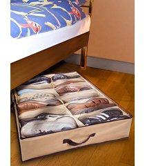 2 sänglådor för skor ghz beige/brun