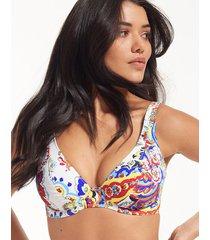 rococo underwire high apex bikini top