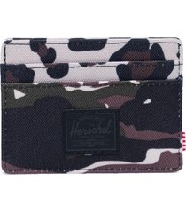 men's herschel supply co. charlie rfid card case - black