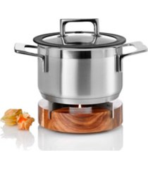 adhoc acacia wood food warmer