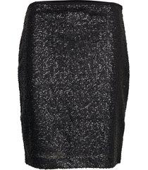 sc-darling knälång kjol svart soyaconcept
