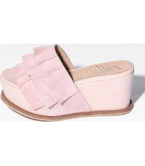 sandalia de cuero natural bettona detroit